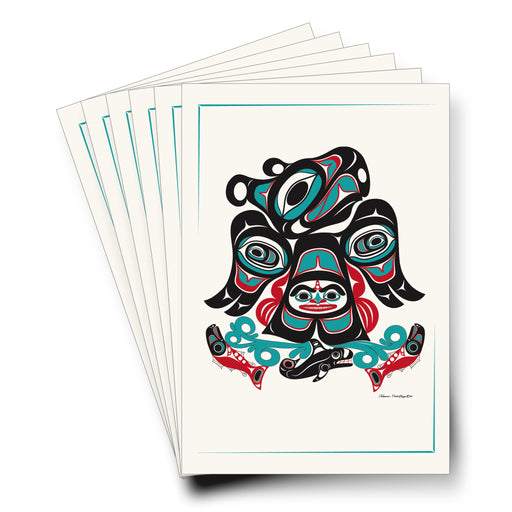 """Thunderbird By The Sea"" Art Cards - Shotridge.com"