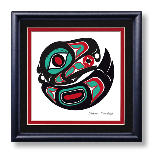 """Eagle"" Hand Signed Framed Giclée Art Print - Shotridge.com"