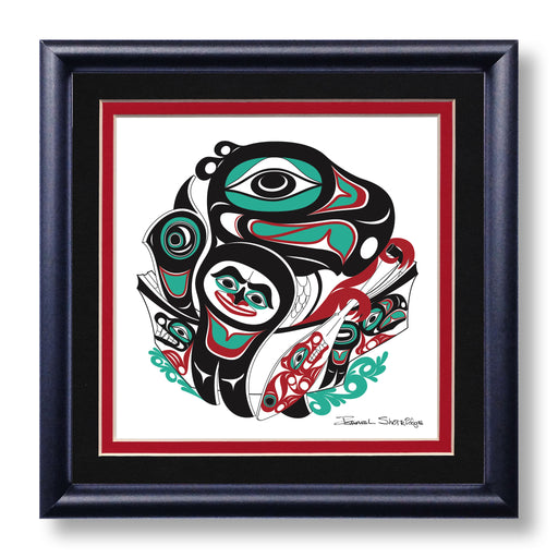 """Going To The Potlatch"" Hand Signed Framed Giclée Art Print - Shotridge.com"