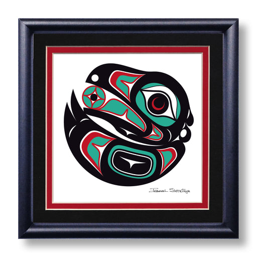 """Raven 2"" Hand Signed Framed Giclée Art Print - The Shotridge Collection"