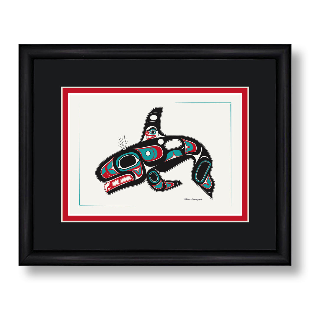 """Killer Whale"" Art Cards - The Shotridge Collection"