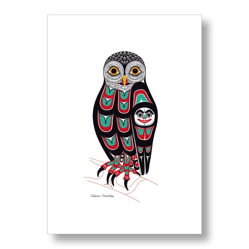 """Owl"" Limited Edition Art Print - The Shotridge Collection"