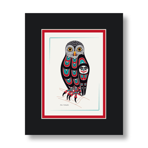 """Owl"" Art Cards - The Shotridge Collection"