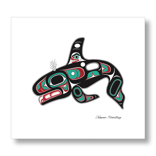 """Killer Whale"" XL Limited Edition Art Print - The Shotridge Collection"