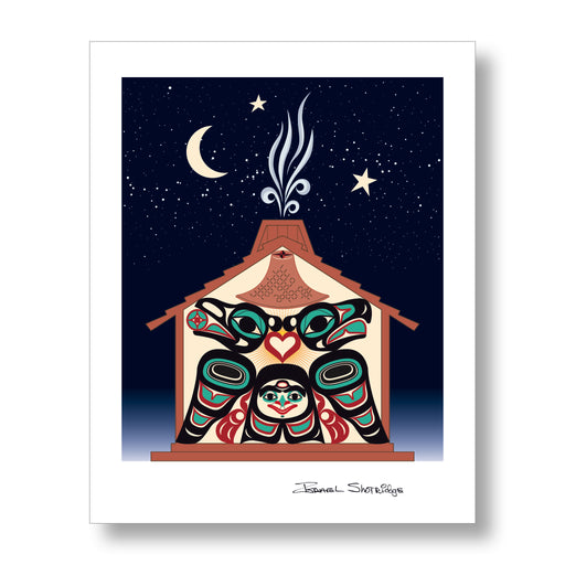 Northwest Indigenous Resilience - Limited Edition Formline Art Print