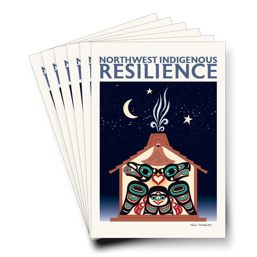 Northwest Indigenous Resilience - Formline Art Cards