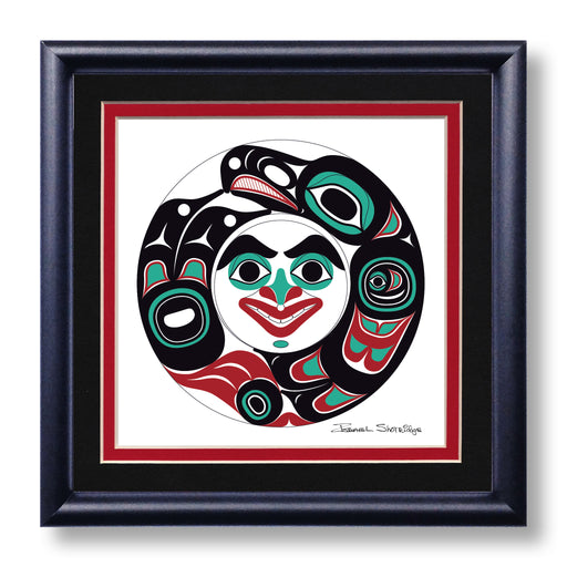 """Eagle Spirit"" Hand Signed Framed Giclée Art Print"