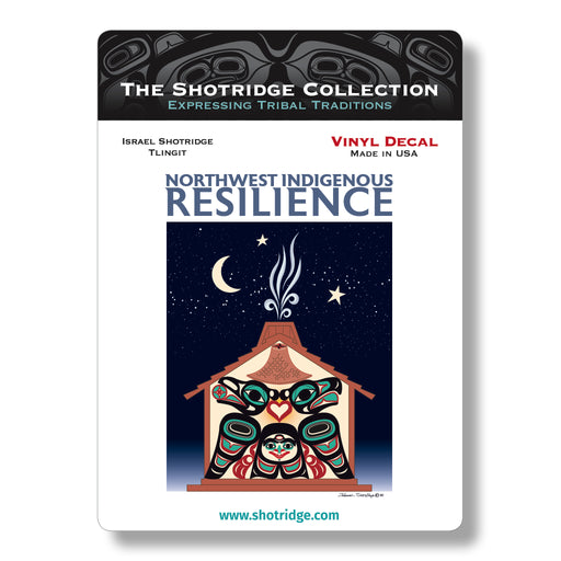 Northwest Indigenous Resilience Vinyl Decal