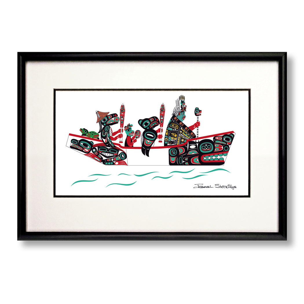 """The Canoe Journey"" Limited Edition Art Print"