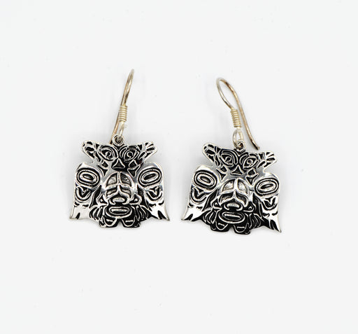 """Lovebirds"" Sterling Silver Earrings - Shotridge.com"