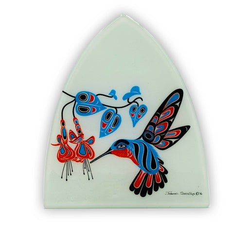 """Hummingbird & Fuchsia"" Night Light - The Shotridge Collection"