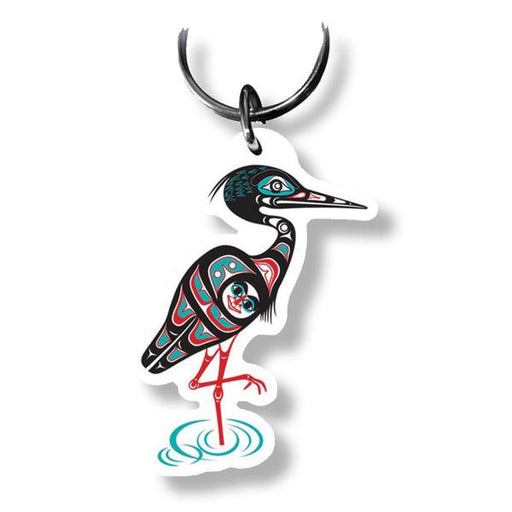 """Heron"" Key Ring - The Shotridge Collection"