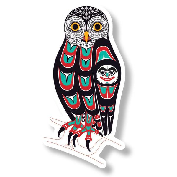 """Owl"" Acrylic Magnet - The Shotridge Collection"