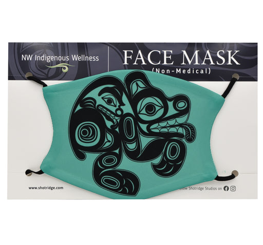 Formline Bear Face Mask