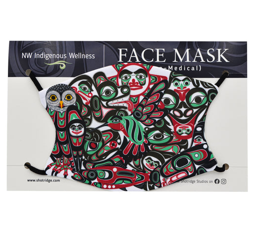 Shotridge 30th Anniversary Face Mask