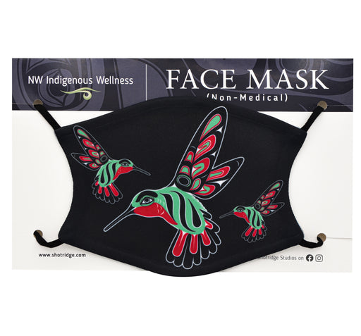 Formline Hummingbird Face Mask