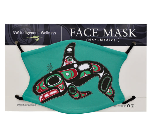 Formline Killerwhale Face Mask