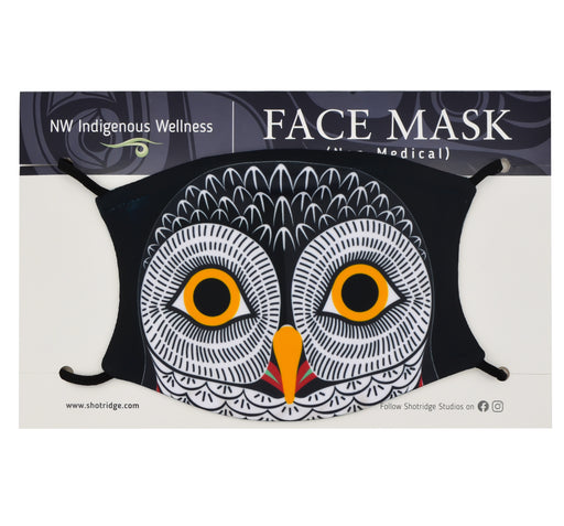 Formline Owl Face Mask