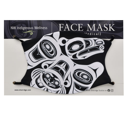 Formline Raven's Journey Face Mask