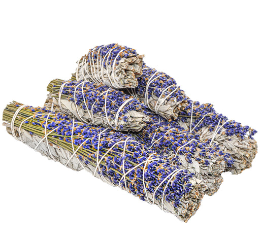 White Sage & Lavender Smudge Bundle