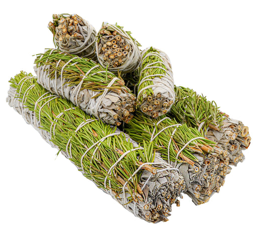 White Sage & Rosemary Smudge Bundle