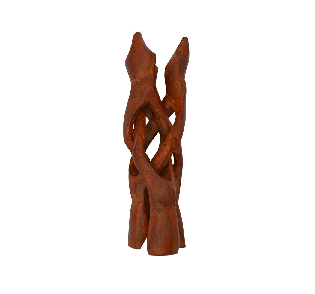 Folding Carved Wooden Stand