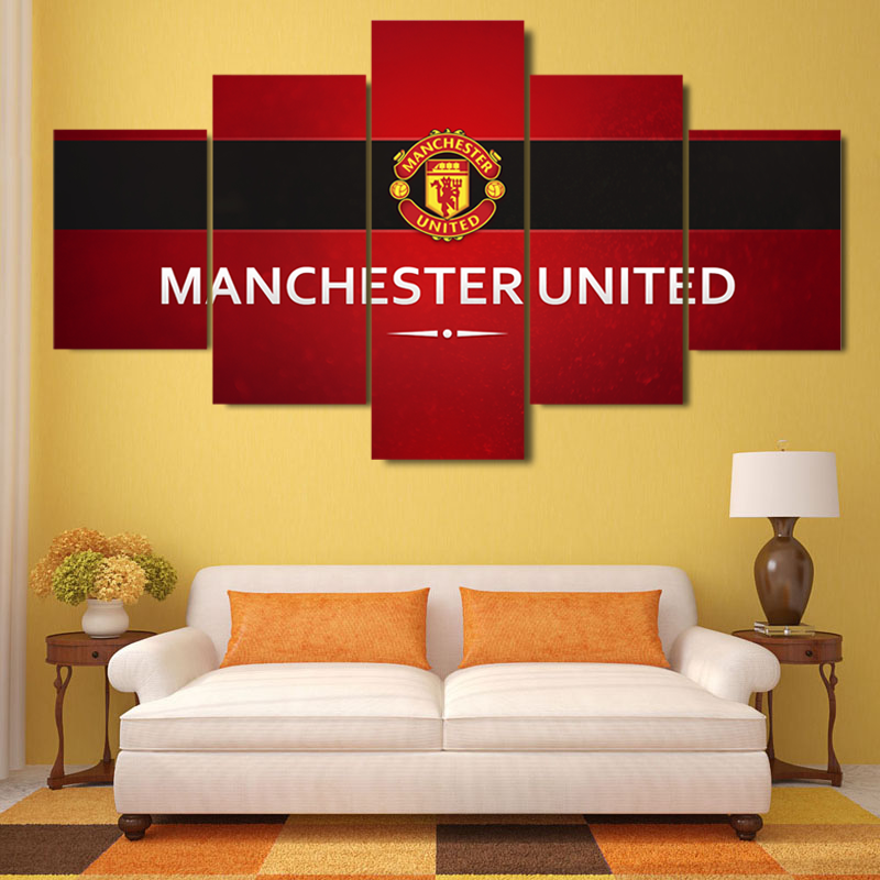 Awesome Man Utd Canvas Wall Art Pictures Inspiration - Wall Art ...