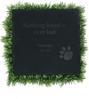 Memorial Plaque - Square 8x8""