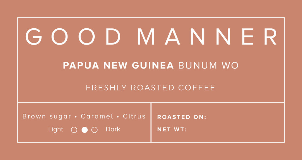 Papua New Guinea: Bunum Wo - Good Manner