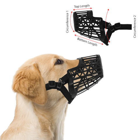 Basket Cage Dog Muzzle