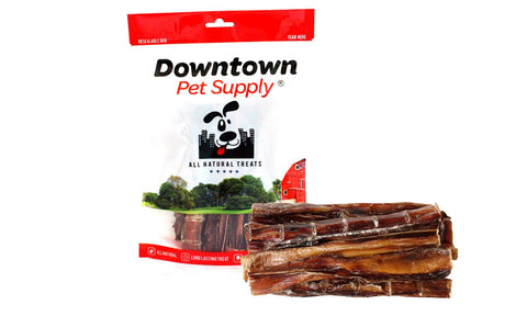 6 - 12 inch USA Low Odor Bully Sticks - 100% Natural Dog Chew Treats