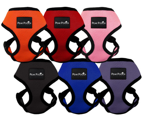 Peak Pooch Comfort Harness, Puppies, Small and Medium Dogs