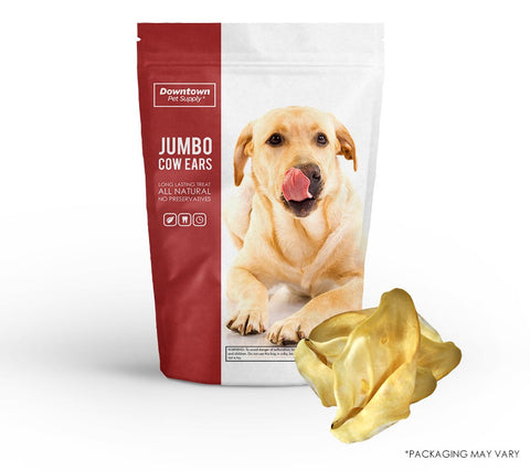 Natural Jumbo Cow, Goat, or Lamb Ears for Dogs