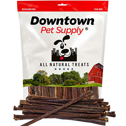 All Natural Dog Beef Gullet Sticks Treats - Healthy Joint Support Chews