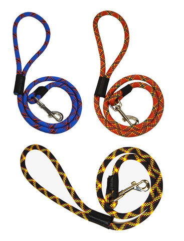 3' & 6' Extremely Durable Dog Rope Leash