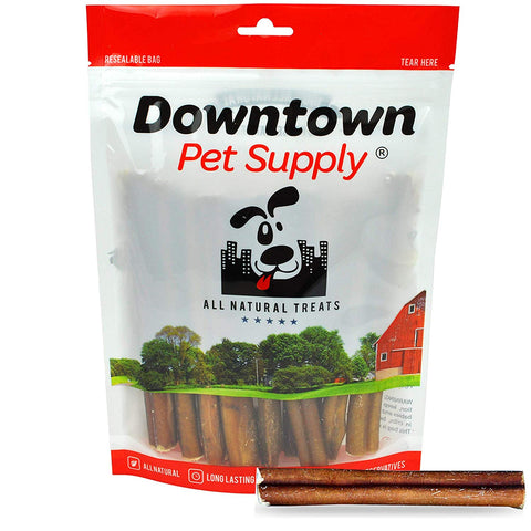 6 Inch Bully Sticks - 100% Natural Dog Chew Treat