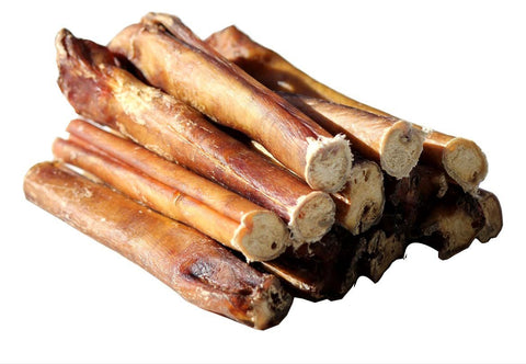 6 Inch Jumbo Thick Bully Sticks - 100% Natural Dog Chew Treat
