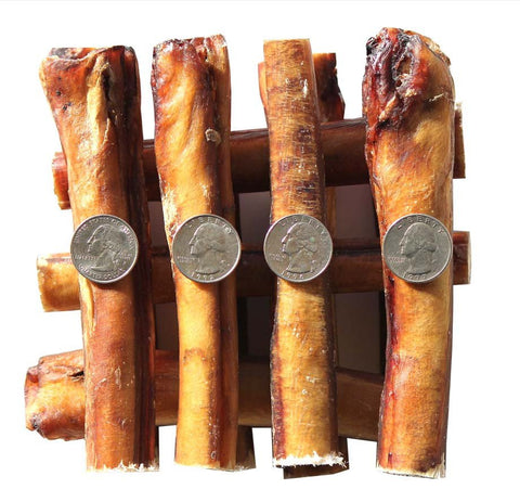 6 Inch Jumbo Thick Bully Sticks, 100% Natural Dog Treat