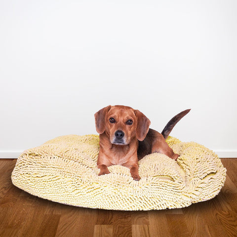 Ultra Comfy Dog Bed - Durable Soft Chenille Microfiber