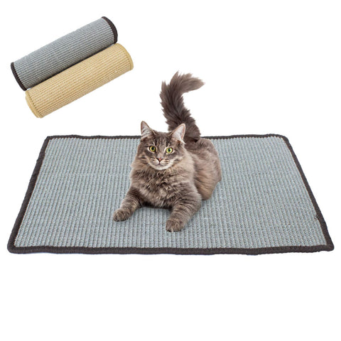 Sisal Cat Mat - Scratching and Exercise Toy for Kittens and Cats