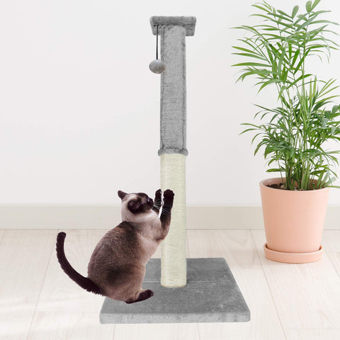 Premium Scratch Post - Deluxe Interactive Cat Scratching Sisal Posts Tree and Exerciser for Kitty