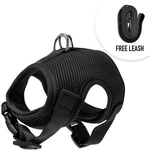 Cat Vest Harness and Leash Combo - Escape Proof