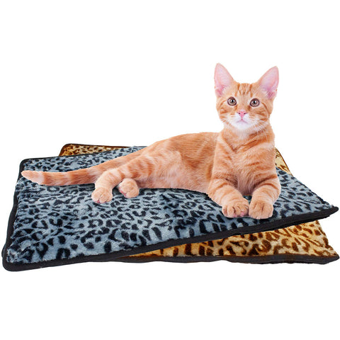 Thermal Cat Pet Dog Warming Bed Mat, Hammock, and Connectable Mat Comfortable Nap, Sleeping and Crate Mat for Cats