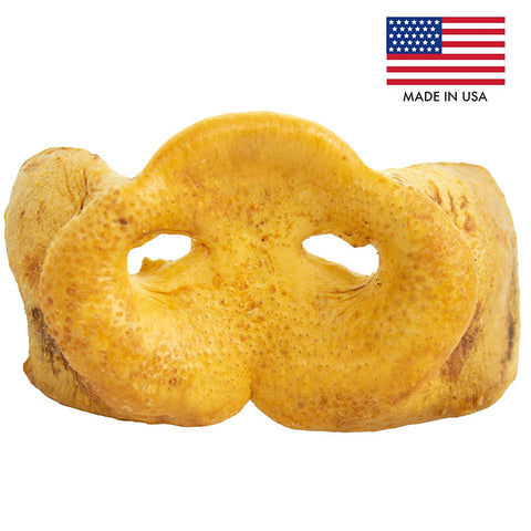 USA Jumbo Pig Snouts - Single Ingredient All Natural Pork Chews
