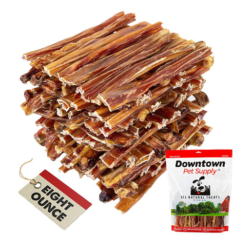 6 and 12 inch Junior Thin Bully Sticks for Dogs (Bulk Bags by Weight) - All Natural Dog Dental Chew Treats, High in Protein, Great Alternative to Rawhides