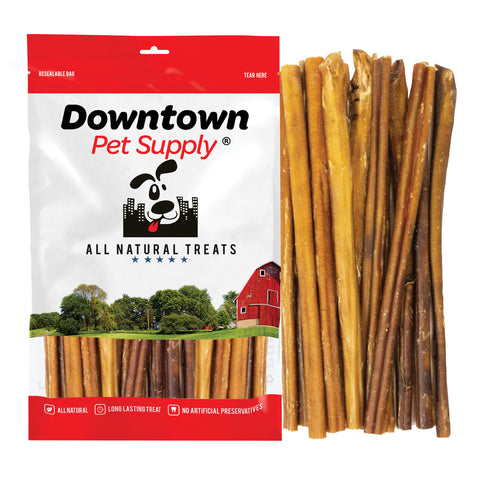 12 Inch Bully Sticks - 100% Natural Dog Chew Treat