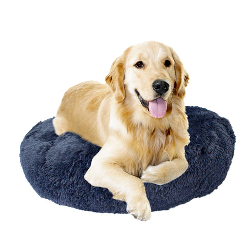 Premium Donut Dog Bed - Orthopedic, Washable, Durable Pet Bed