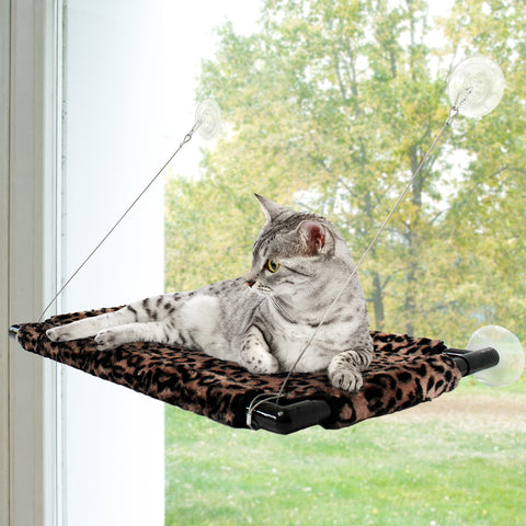 Thermal Cat Pet Warming Window Hammock Bed, Comfortable Suspended Nap, Sleeping and Crate Mat for Cats