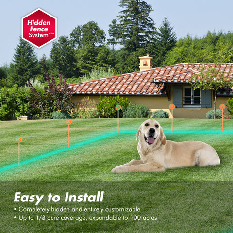 In-Ground Dog Pet Fence Outdoor Containment System