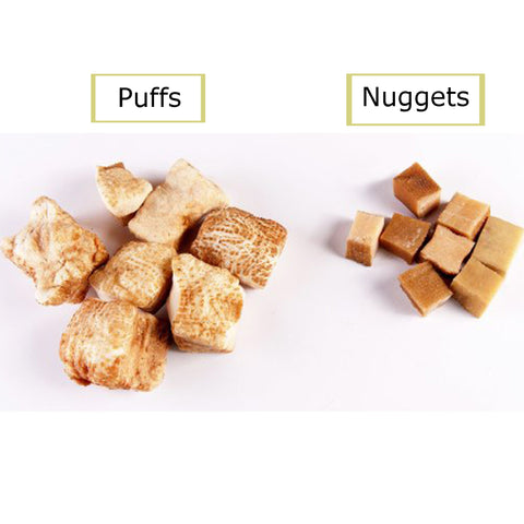 Yak Nugget Puffs from the Himalayan Mountains, 100% Natural Dog Chew